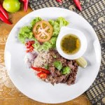 Beef Fried Rice Rattana Thai