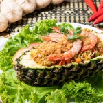 pineapple rice rattana thai