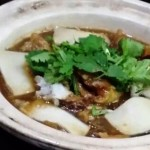 fish maw soup with abalone