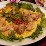 omelette w chicken