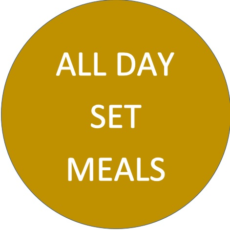 ALL day set meal logo