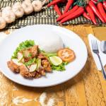 Lemon Chicken Rice RATTANA THAI