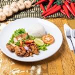 Thai Sweet Chili Chicken Rice Rattana Thai