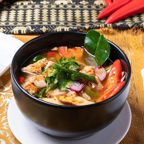 Tom Yam Chicken Rice