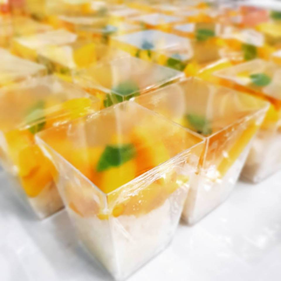 Mini Mango Sticky Rice
