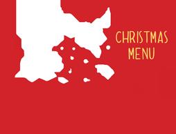 chrismas menu