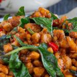 basil tofu thai